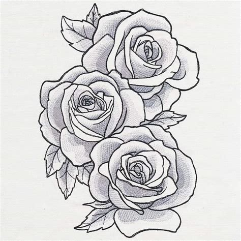 rose tattoo template pin by lesha on cool stuff stencils