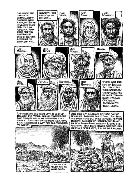 the book of genesis illustrated by r crumb the bible illuminated r crumb s book of genesis hammer
