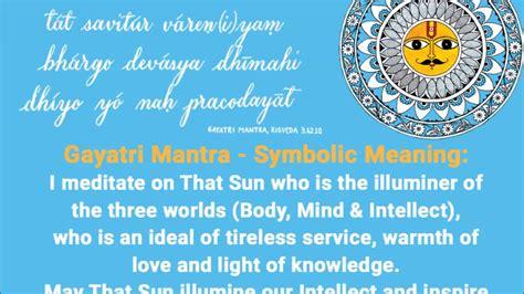 Gayatri Maxy gayatri mantra meaning