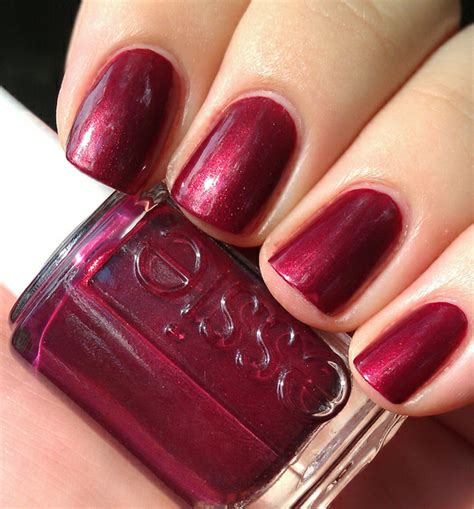 Glassflecked Essie Swing Velvet