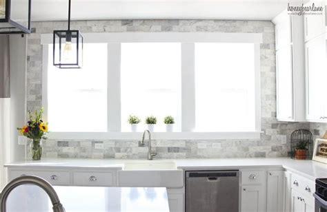tiling backsplash in kitchen diy marble backsplash in the kitchen hometalk