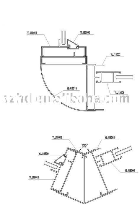aluminium sliding window sections pin window parts diagram on pinterest