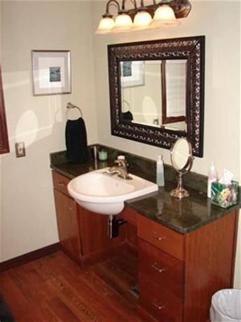 Handicap Accessible Bathroom Vanities Accessible Bathroom Counters Cabinets On Pinterest Wheelchairs B