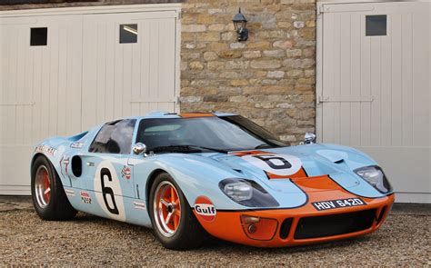 gulf gt40 gulf liveried ford gt40 replica to go the hammer