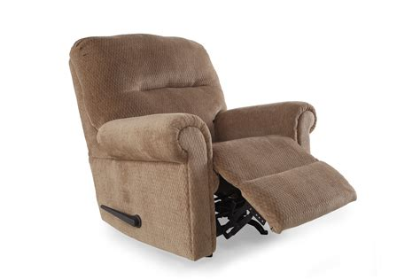 mathis brothers furniture recliners ashley skyeslee mocha rocker recliner mathis brothers