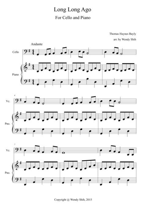 Ago Suzuki Piano Ago Cello And Piano Sheet By