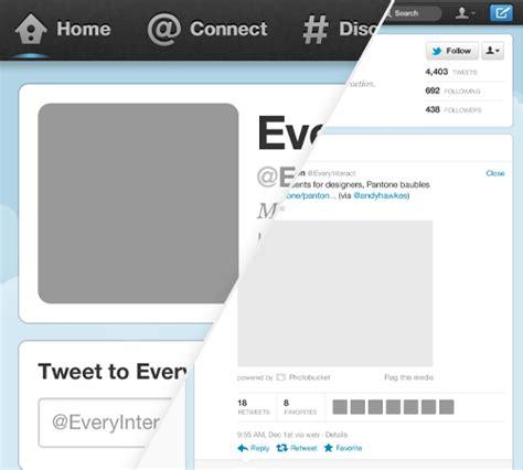 twitter bio layout free new twitter profile page gui psd smashing magazine