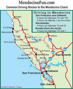 map of mendocino coast ca pictures to pin on