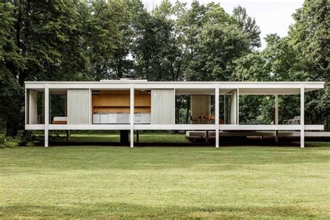 farnsworth house farnsworth house by ludwig mies van der rohe up interiors