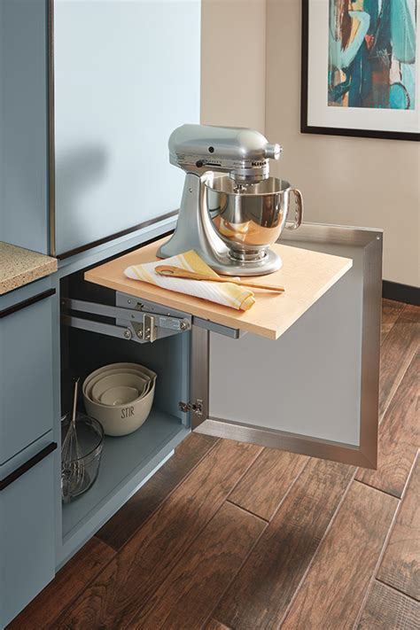 Base Mixer Shelf by Mixer Cabinet Decora Cabinetry