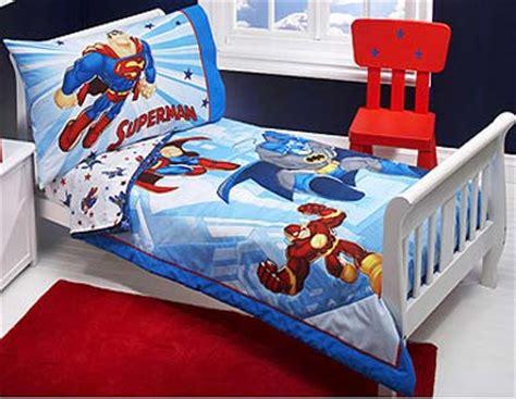 Warner Bros Dc Super Friends Toddler Bedding Set Superman Crib Bedding Set