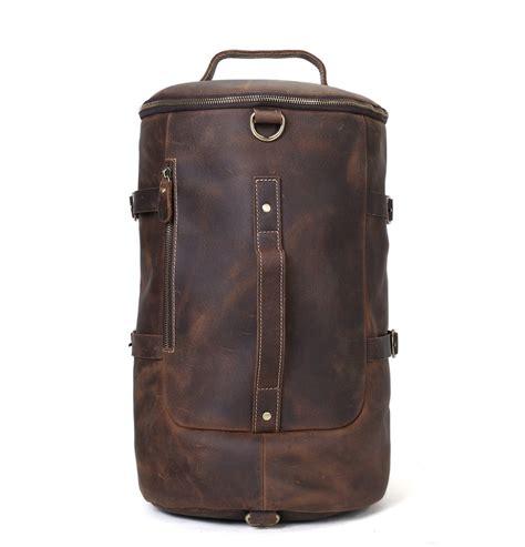 Handmade Sling Bag - handmade vintage leather backpack travel backpack