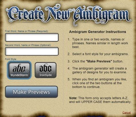 tattoo name designs generator 50 best free ambigram generators and exles