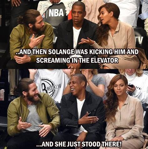 Beyonce And Jay Z Meme - what jay z said to solange blows up on twitter funny
