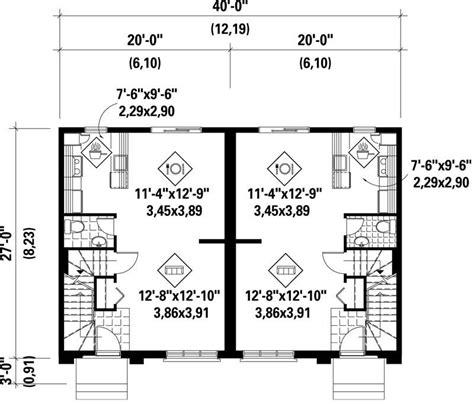 Multi Unit House Plans by Multi Unit House Plans Home Design Pi Dnc210006 17927