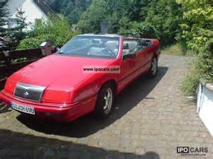 1997 Chrysler Lebaron Chrysler Lebaron 3 0 1995 Auto Images And Specification