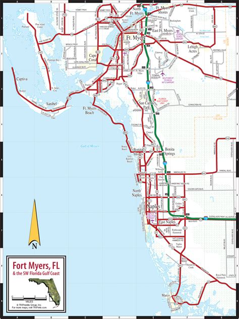 map of florida fort myers fort myers naples fl map