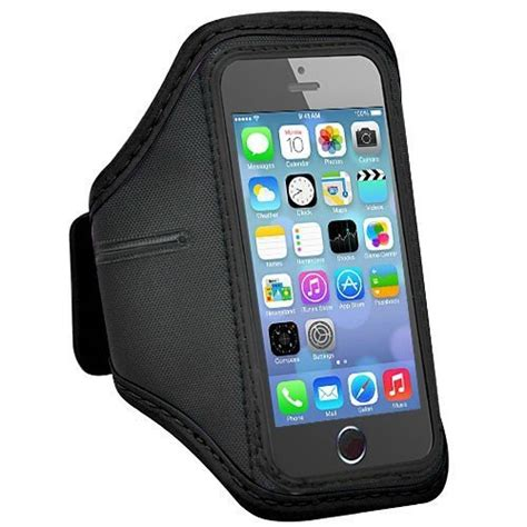 padded material sports armband for iphone 5 5s se ze ad005 black jakartanotebook