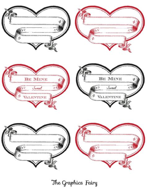 printable stickers heart free printable heart labels printable hearts free