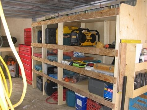 enclosed trailer shelving systems shelving ideas