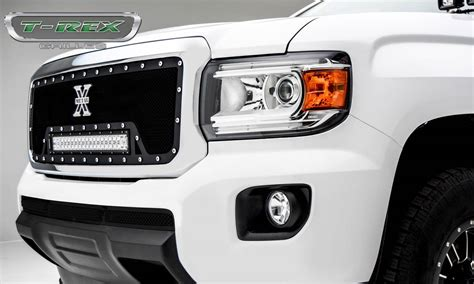 gmc light bar grill gmc torch grille insert w 1 20 quot led light