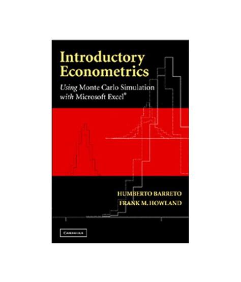 introductory econometrics books introductory econometrics using monte carlo simulation