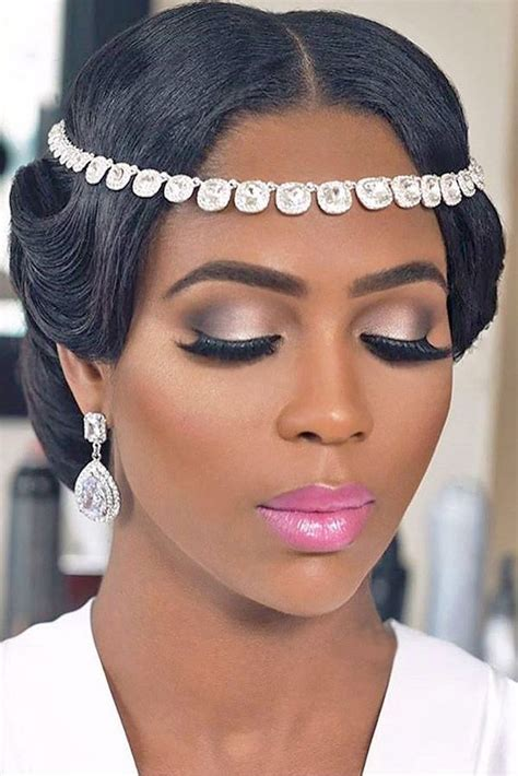 42 Black Women Wedding Hairstyles   The Luckiest  Wedding