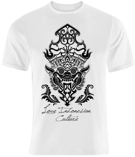 Desain Kaos Bali | indonesian culture kaos unik