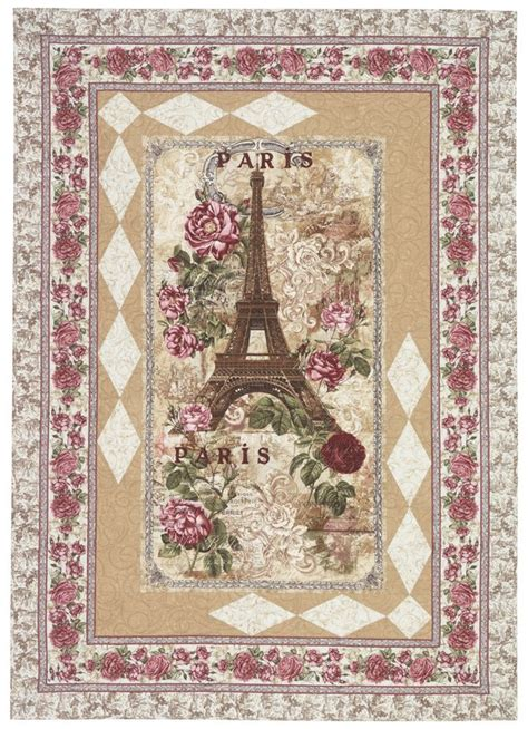 Timeless Treasures Quilt Shop by Timeless Treasures Rendezvous Parisienne Quilt Kit