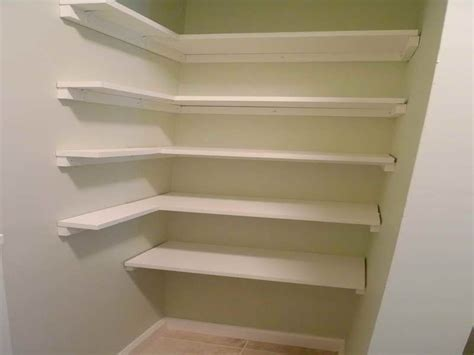 kitchen closet shelving ideas pantry shelving plans design ideas corner white pantry