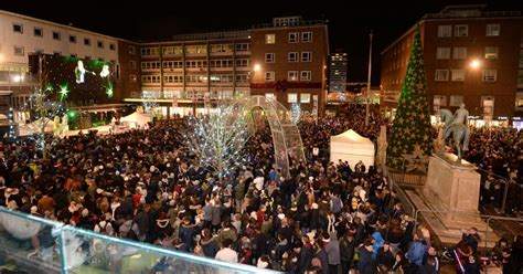 christmas lights switch on child abduction rumours are