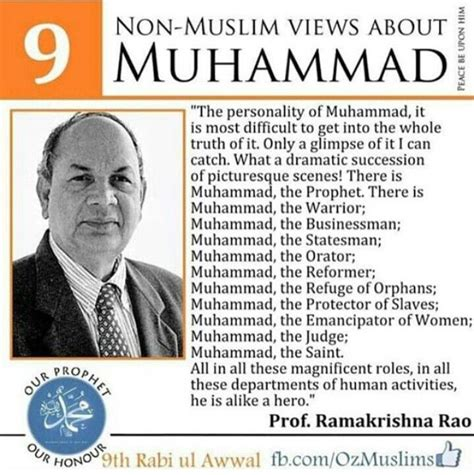 muhammad real biography views of a non muslim about the prophet muhammad pbuh