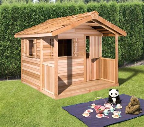 outdoor kids playhouses wooden playhouse kits childrens