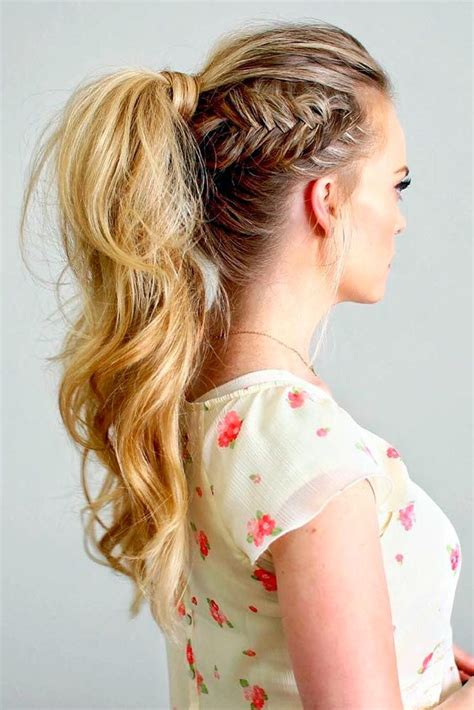 ponytail hairstyles top 25 best ponytail hairstyles ideas on