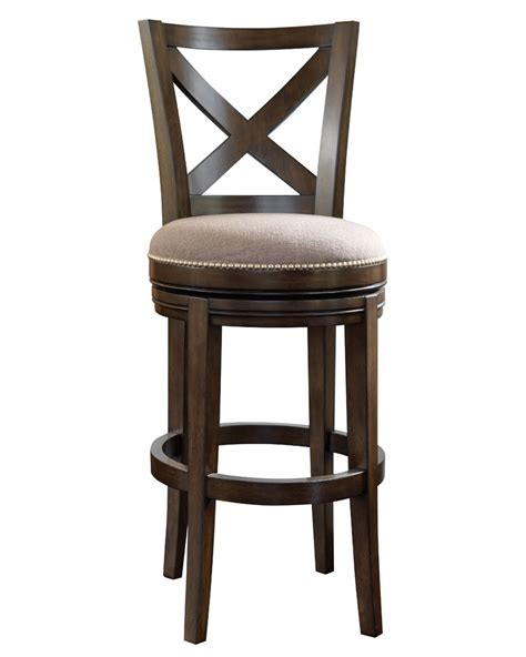 Swivel Counter Stools With Backs Harris Quot Ready To Ship Quot X Back Swivel Bar Counter Stool