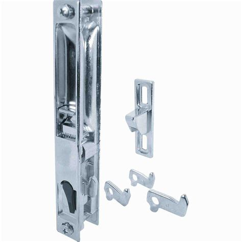 backyard door latch prime line patio door latch and pull c 1045 the home depot