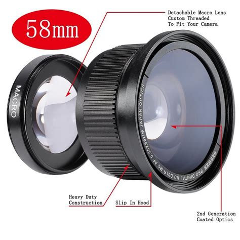 Fish Eye Wide 40 X Lens Wide Lensa For Camerahandpone neewer 58mm 0 35x fisheye wide angle lens with lens cover for canon rebel t5i t4i t3