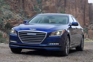 2015 Hyundai Genesis Sedan Price 2015 Hyundai Genesis Sedan Front View Parked Photo 1