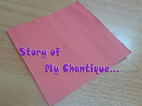 membuat origami love story of my chantique diy tutorial cara membuat