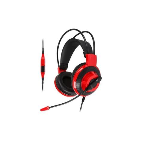 harga jual headset headphone msi ds501 gaming headset malang