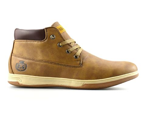 mens casual boots shoes mens casual walking hiking trail work desert chukka lace