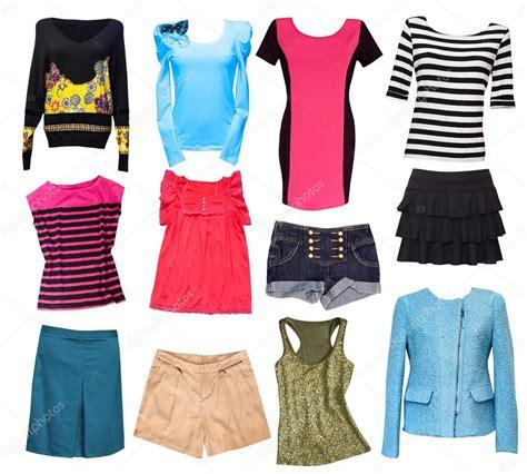 imagenes de ropas collage de ropa femenina de moda conjunto de ropa de