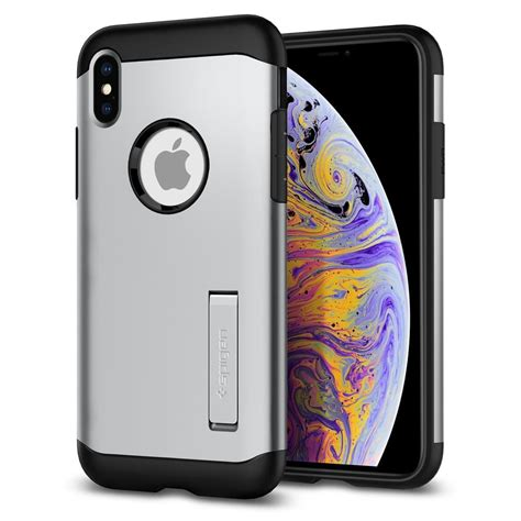 iphone xs iphone xs max slim armor iphone 2018 apple iphone cell phone spigen