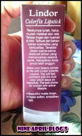 Lipstik Wardah Beserta Gambar review lipstik lindor pink 14 nine april