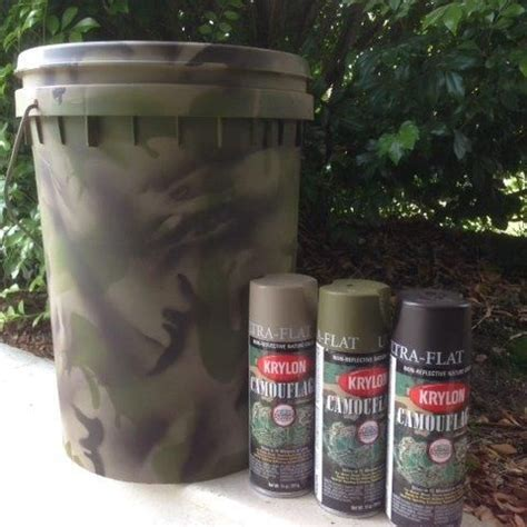 camoflage paint painting painting plastic with krylon camouflage fusion