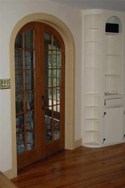 Arch Top Interior Doors Custom Made Interior Solid Wood Doors French Arch Top