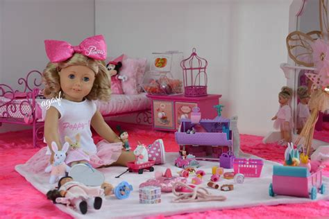 How To Make A American Doll Bedroom by American Doll Poppy S Bedroom In Hd