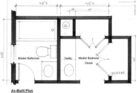 large master bathroom floor plans the story of a master bathroom remodel fisher group llc