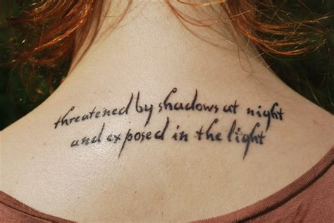 tattoo quotes for your back upper back tattoos quote high fashion update