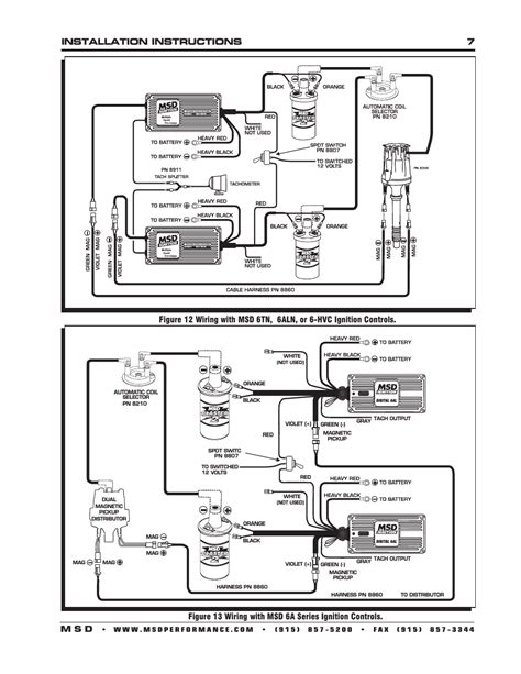 msd 6aln wiring diagram image collections diagram